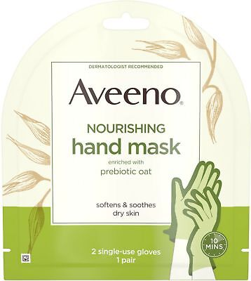 Aveeno Nourishing Hand Mask Enriched with Prebiotic Oat for