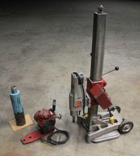 "Milwaukee Dymodrill 4099 Core Drill w/ Vacuum Pump & Vac Pad & 4"" Core Bit"