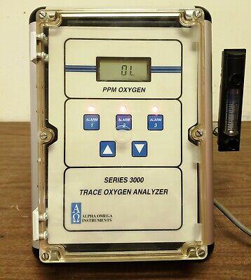 Alpha Omega 3000 Oxygen Analyzer
