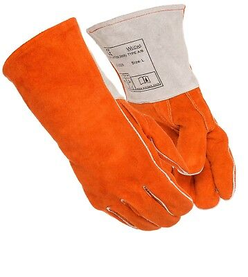 Weldas All Purpose Weldingbbqheat Resistant Gloves Made W Kevlar 14 Inches