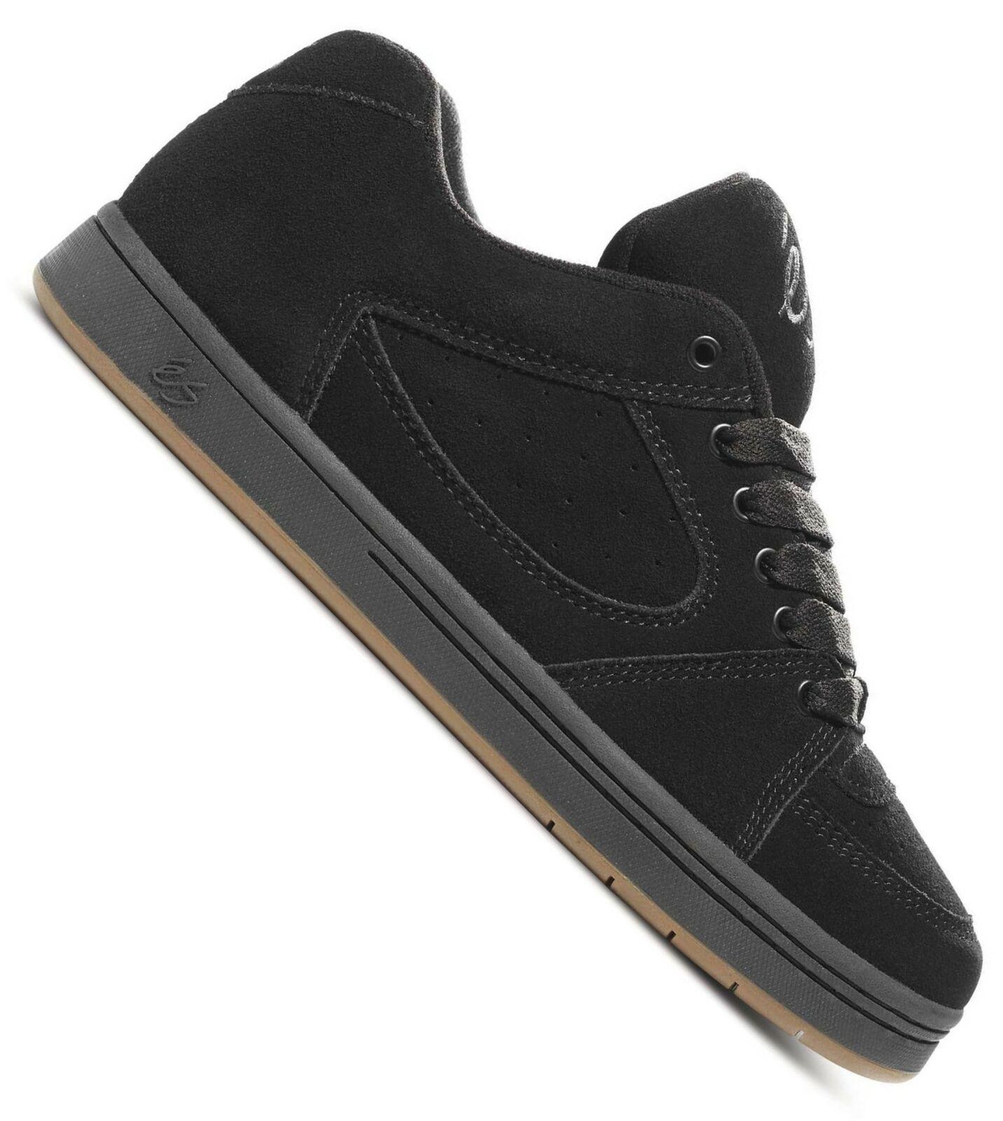 ES Accel OG Skate Schuh Herren Lederschuh schwarz
