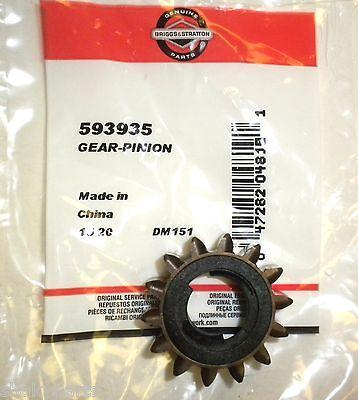 Original 593935 Briggs & Stratton Pinion Gear