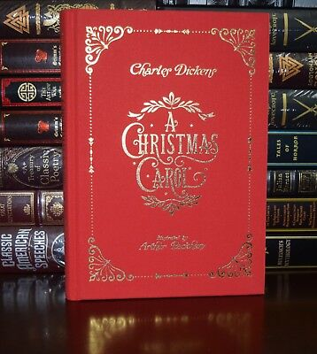 Christmas Carol by Charles Dickens Illustrated Arthur Rackham New Hardcover