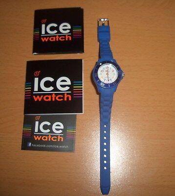 Gebraucht, ICE WATCH MINI Kinderuhr Kinder Uhr Silikonarmband blau wie neu unbenutzt gebraucht kaufen  Deutschland