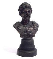 Statuina Mezzo Busto In Bronzo Marco Aurelio Imperatore Romano - 1980 -  - ebay.it