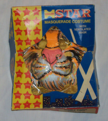 "Vintage 1960s ESSO EXXON Humble Oil ""PUT A TIGER IN YOUR TANK"" Halloween Costume"