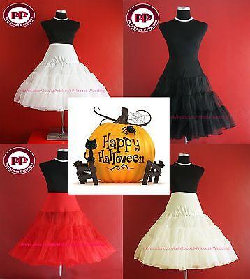 Halloween costumes Rock n'Roll/Fancy Net Petticoat Underskirt TUTU FREE P&P