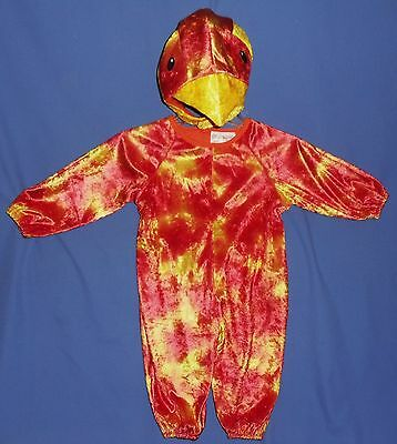 PLUSH PARROT COSTUME-CHICKEN-HAT-CHILDS 1-2;3-4;JUNGLE;ZOO;EASTER BIRD DRESS UP; - Kid Parrot Costume