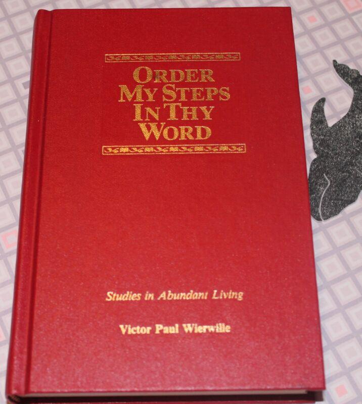 Victor Paul Wierwille Order My Steps - Volume 5