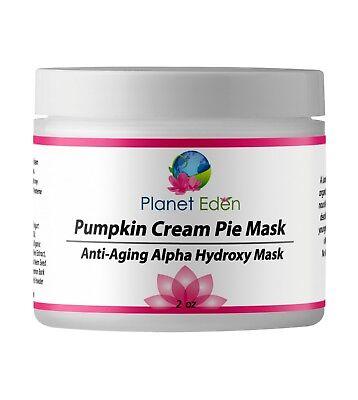Planet Eden 10% Glycolic Acid Pumpkin Cream Pie Facial Mask -  Pumpkin, Yogurt (Mask Planet)