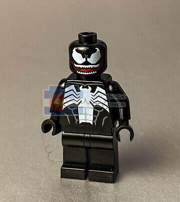 LEGO Venom Figure Super Hero Villain Spider Man Black Fig 76175 76115 76150