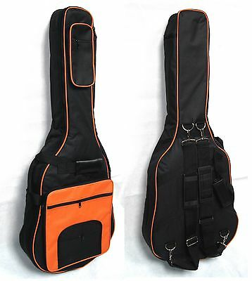 Gig Bag -Softkoffer GK21orange,Polsterung 15mm,für 4/4 Konzertgitarren,Klassik !