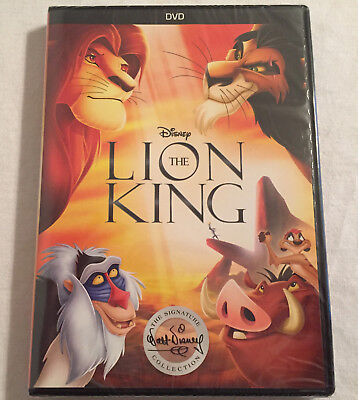 The Lion King (DVD, 2017) BRAND NEW - FREE SHIPPING TO THE US!!!