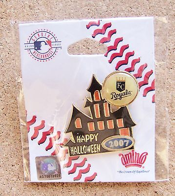 2007 Kansas City Royals Halloween Haunted House pin variety 3 - Halloween Kansas City