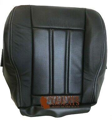 08 Chrysler Town&Country Driver Bottom Leather Perforated Vinyl Seat Cover Black Chrysler Town Country Seat Covers
