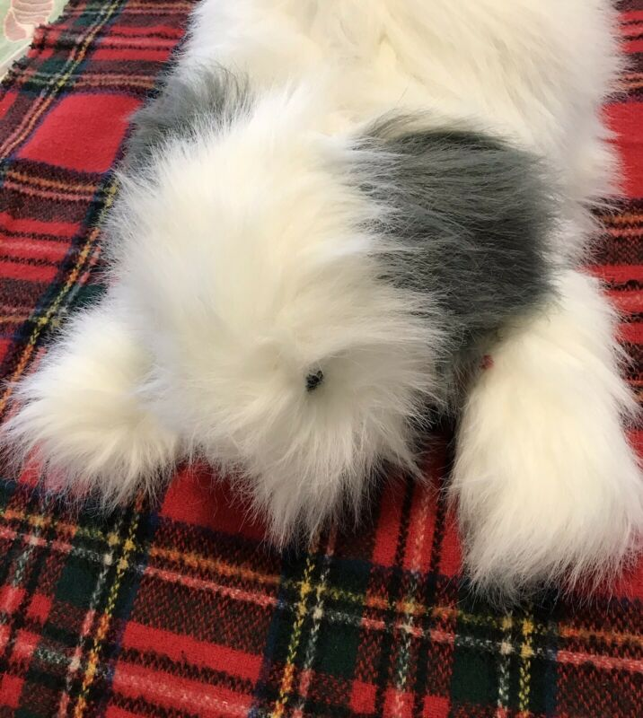 "Old English Sheepdog Stuffed Animal Plush - 20"" Length Made By Fancy Zoo"