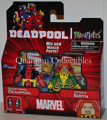 Marvel Minimates Wave 65: Secret Wars Deadpool and X-Force Siryn 2-Pack - Siryn Marvel