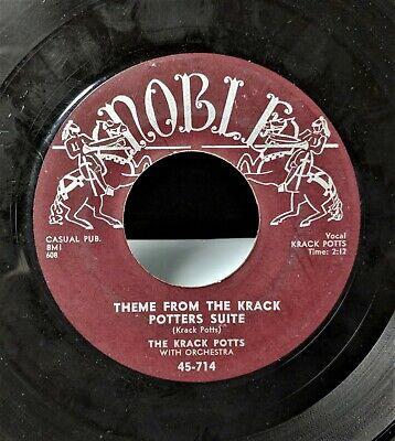 RARE ODDBALL ROCK 'N' ROLL 45: KRACK POTTS Theme From Krack Potters Suite mp3  ](Rock N Roll Theme)