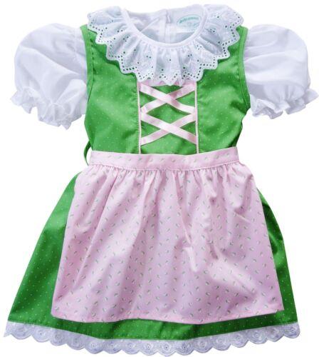 US sz 18-24 mo,Baby,Girls,Kids Germany,German,Trachten,Dirndl Dress,3-pc.,Green
