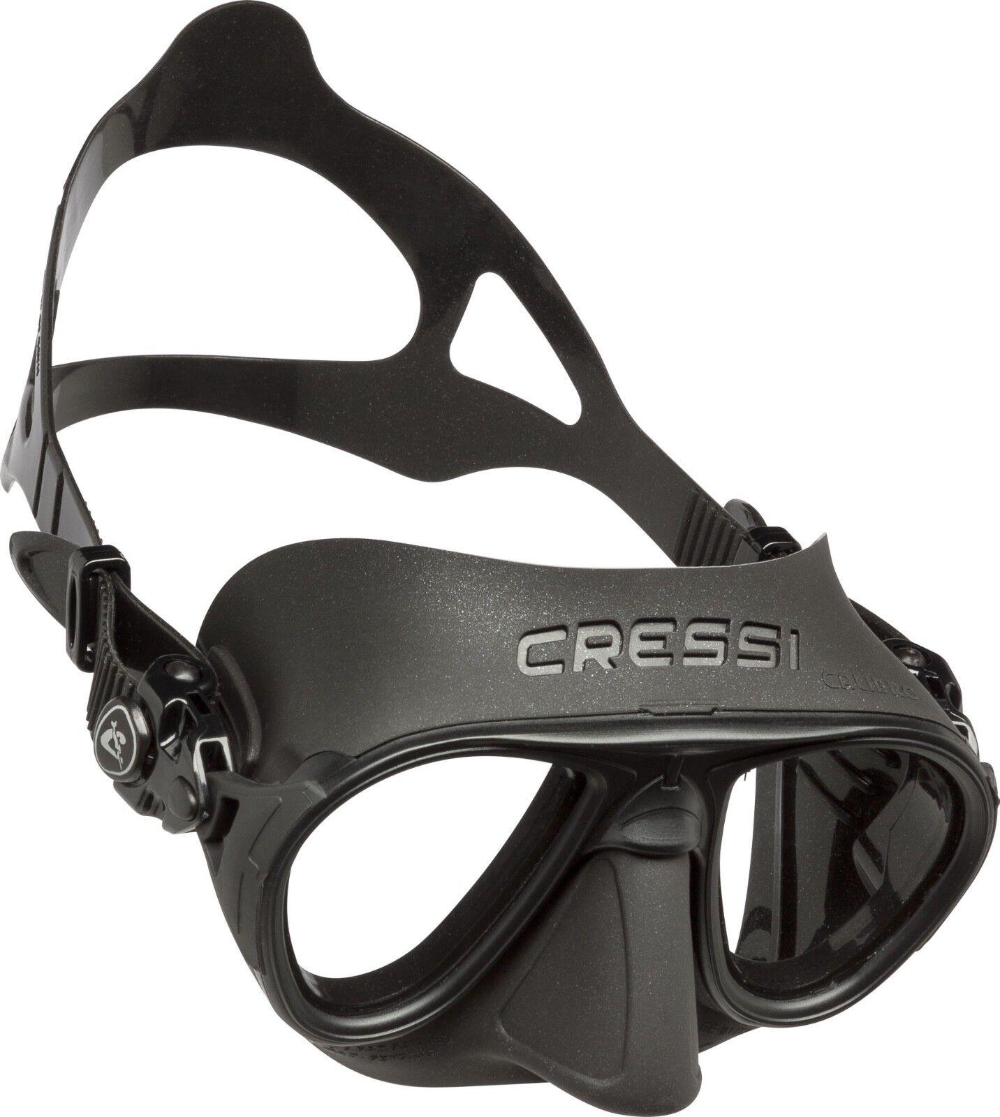 Calibro Cressi Maske One Size Black / Tauchmaske / Brille / Schnorcheln / Apnoe
