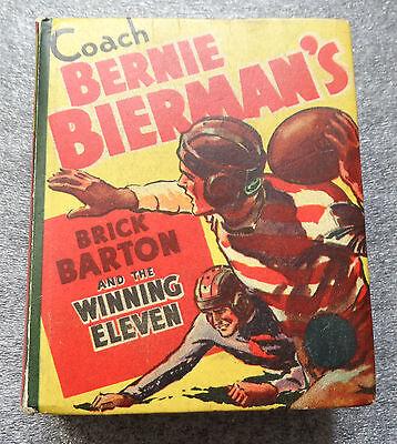 Coach Bernie Bierman's Brick Barton Winning 11 Big Little book
