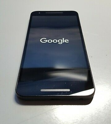"LG GOOGLE NEXUS 5X BLACK 5.2"" 32GB ANDROID 8.1"