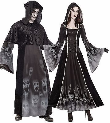 Couples Ladies AND Mens Soul Reaper Eater Halloween Fancy Dress Costumes Outfits](Halloween Outfits Couples)