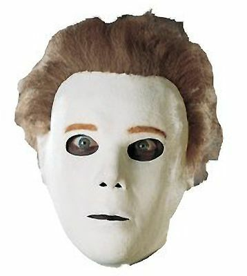 DELUXE ADULT LICENSED LATEX MICHAEL MYERS MASK W/HAIR](Michael Myers Halloween 8 Mask)