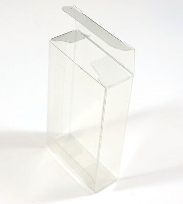 New 25 Clear Plastic Gift Boxes Party Favor Wedding Rectangular 3.6x2.1x0.8 in