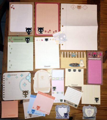 Sanrio CHOCOCAT Stationery / Stationary LOT 20 Sheets MEMO Writing Paper