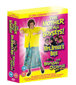MRS  BROWN'S BOYS  THE MOTHER OF ALL BOXSETS  12 DVD BRENDAN O'CARROLL