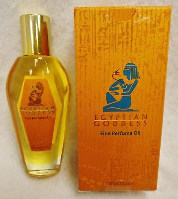 - New Auric Blends Egyptian Goddess Large Bottle Fine Perfume Scented Oil 1.87 oz