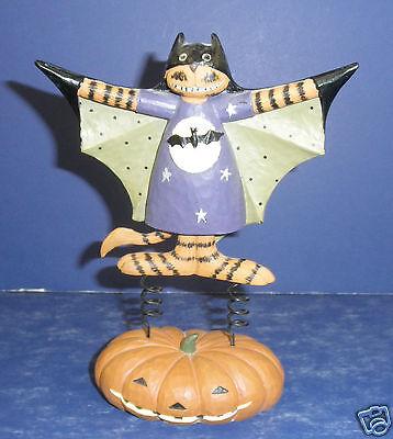 Williraye Studio Halloween (Williraye Studio Halloween- Gothams Catman Figurine WW6142 -NEW in )