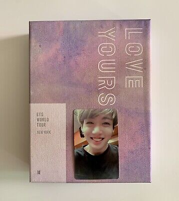 BTS Love Yourself New York DVD with Jungkook Photo Card