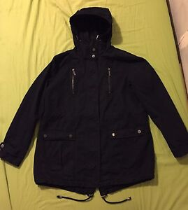 FRENCH CONNECTION Women's Black Jacket - Long Style