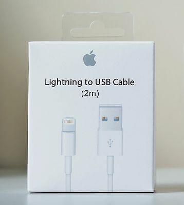 New 2M 6Ft Lightning To Usb Data Charger Cable For Apple Iphone 5  6  7  7 Plus