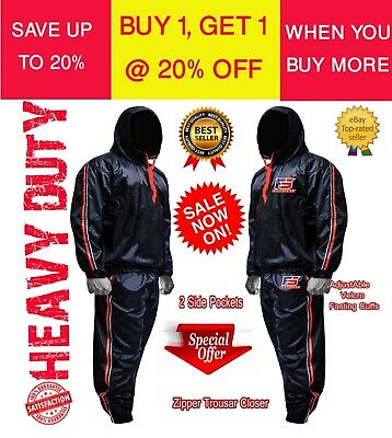 Best Body SHAPER Sauna Sweat Suit for WEIGHT LOSS Men Women BOXING Workout