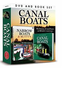 HISTORY OF CANAL BOATS BRITAIN'S WATERWAYS NARROWBOATS & BUTTY'S DVD & BOOK