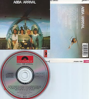 ABBA-THE ARRIVAL-1976-FRANCE-POLYDOR / POLYGRAM RECORDS 821 319-2-PMDC-CD-MINT-