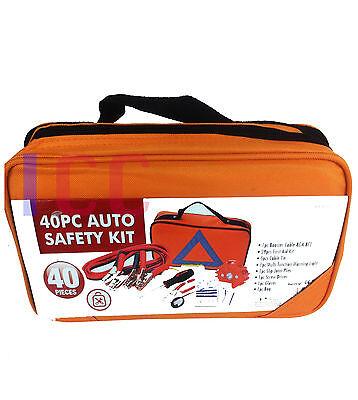 car 40pc safety kit first aid emergency car breakdown EU travel EUROPE Abroad