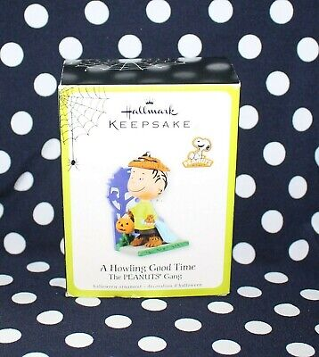 Hallmark Halloween Ornament Peanuts A Howling Good Time Linus H1