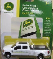 1/64 Ertl John Deere Ford F350 Dealer Truck