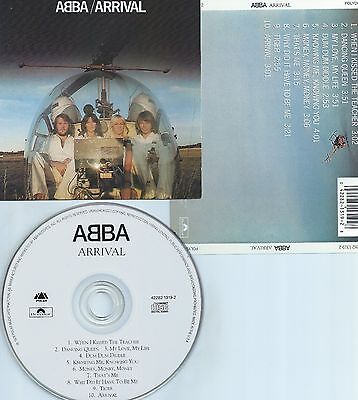 ABBA-ARRIVAL-76-USA-POLAR/POLYDOR 4228213192-FACE OF THE CD IN WHITE COLOR-MINT-