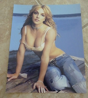 Britney Spears Sexy Color 8x10 Photo Promo