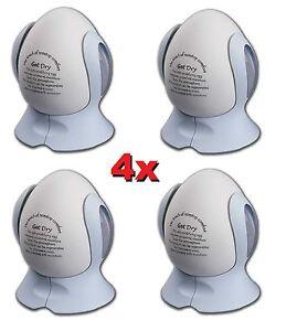 4x Moisture Remover Absorbing Egg Portable Dehumidifier Egg Wardrobe Room