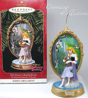 1999 Hallmark Sleeping Beauty Enchanted Memories Ornament Disney Princess Aurora