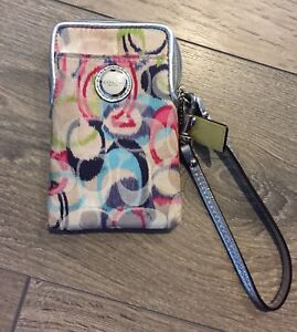 Authentic Coach wristlet - PRICE REDUCED