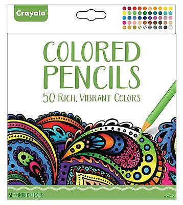 Crayola Aged Up Colored Pencils - 50 Count