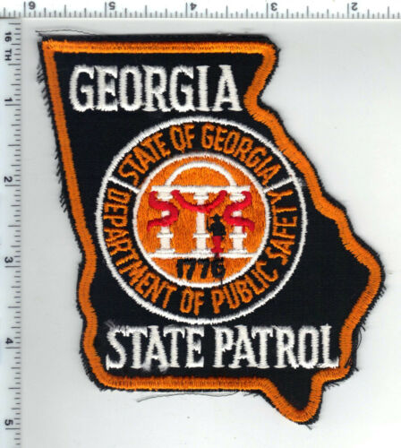 Georgia State Patrol - 3rd issue Shoulder Patch