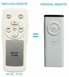 NEW A1156 Replaced Remote For 1st Gen Apple TV Mac Mini Macbook with IR Sensor